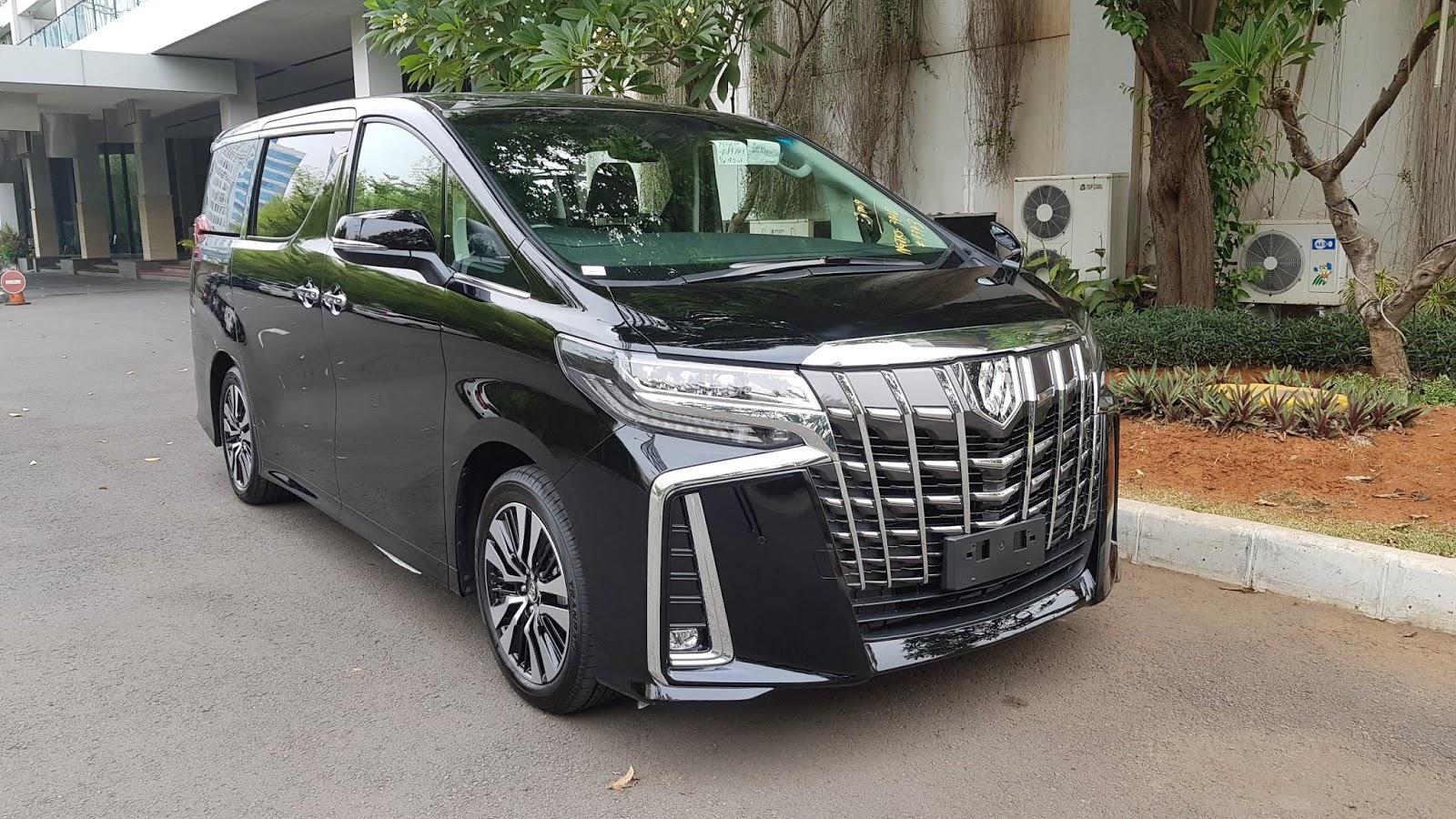 All New Alphard Facelift Spesifikasi Kijang Innova Diesel Sc Premium Sound 2018 Model Pusat