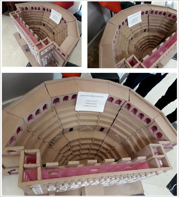 materyal tasarım aspendos örneği