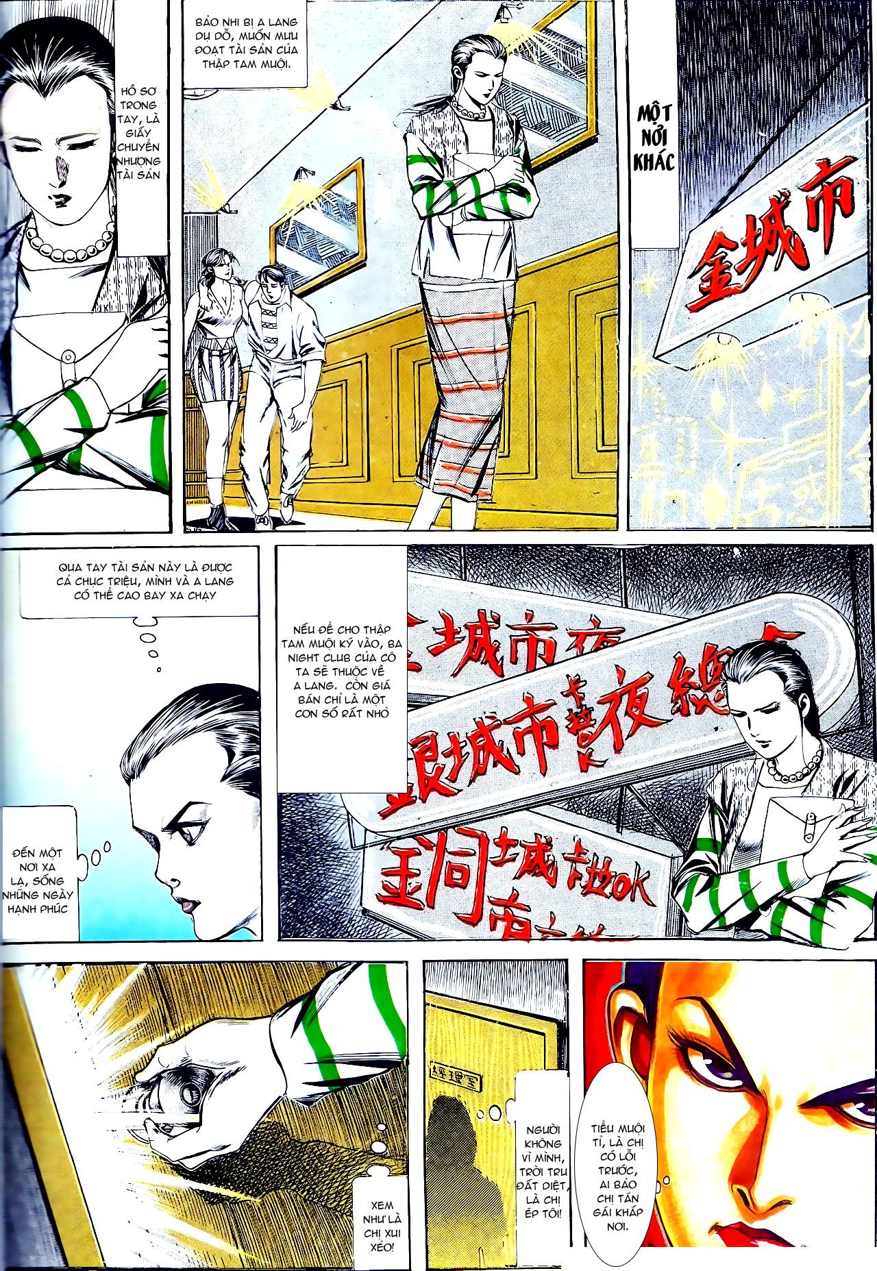 Người Trong Giang Hồ chapter 137: yêu nhất là ai trang 7
