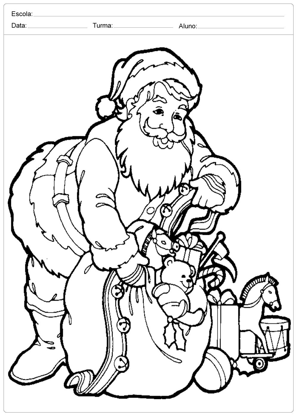 Melhor De Desenhos De Natal Em Ingles Para Colorir Melhores