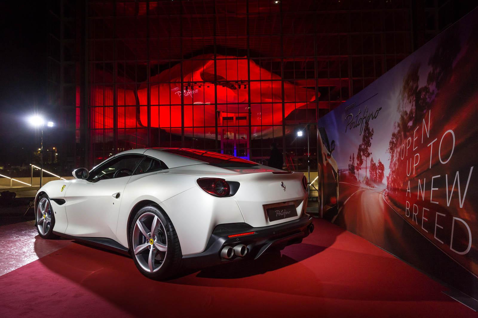 Gas Prices In California >> Ferrari Portofino Comes Home For Italian Debut In Rome ...