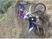 Extreme ride on Enduro motorbikes