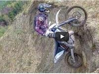 Extreme ride on Enduro motorbikes