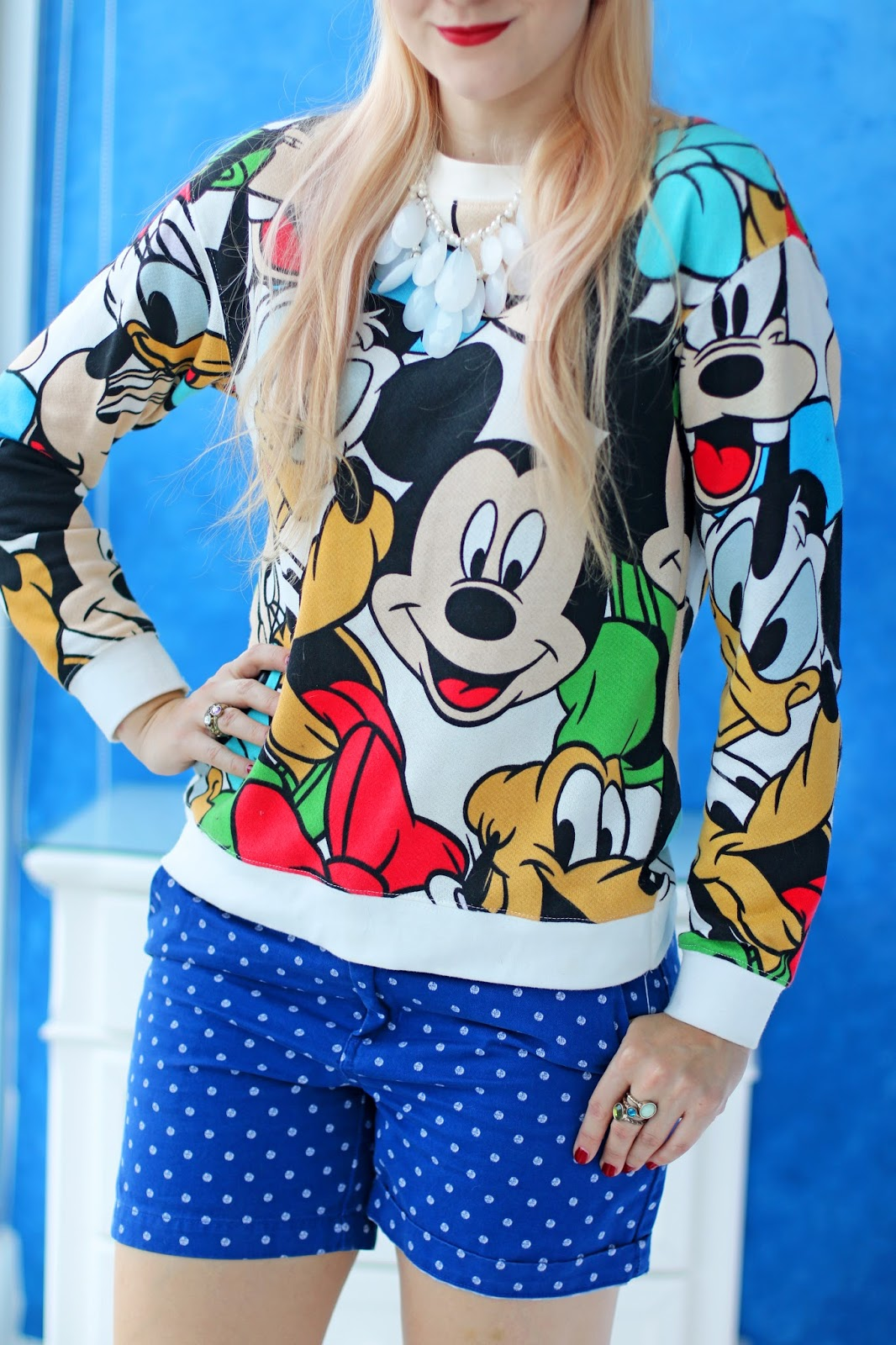 Cute Disney sweater outfit