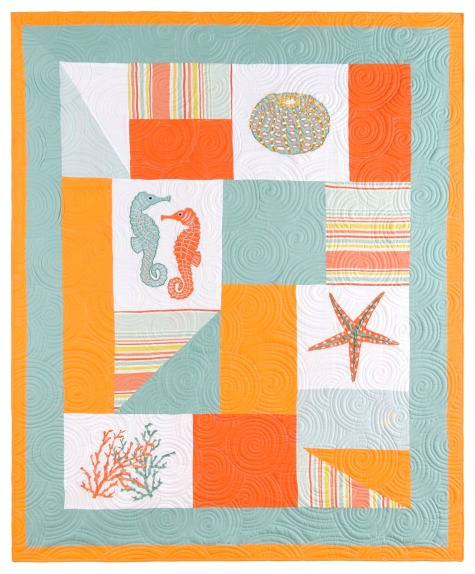 Coastal Quilts As Wall Hangings Completely Coastal