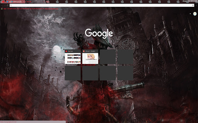 Bloodborne DLC Exclusive Free Theme FOR Chrome
