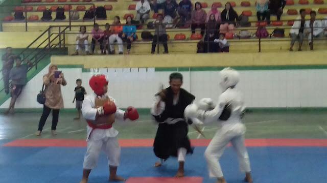 Pemadan Listrik saat Pertadingan Kempo dan Taekwondo Dikecam