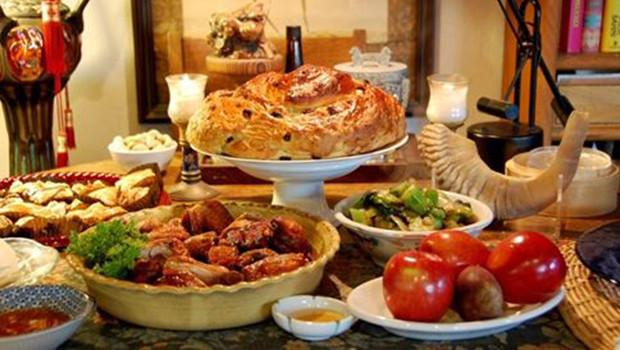 Rosh Hashanah Dinner  2017