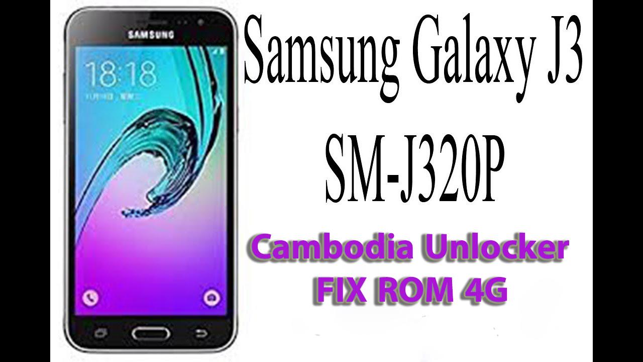 SELL* GALAXY J3 SM-J320P Fix Rom 4G Add All Langues
