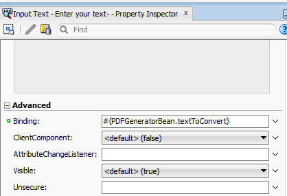 Creating pdf file using Apache PDFBox API in ADF Faces and