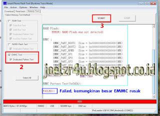 Cara Mudah Mengetahui EMMC/NAND Rusak Pada Android
