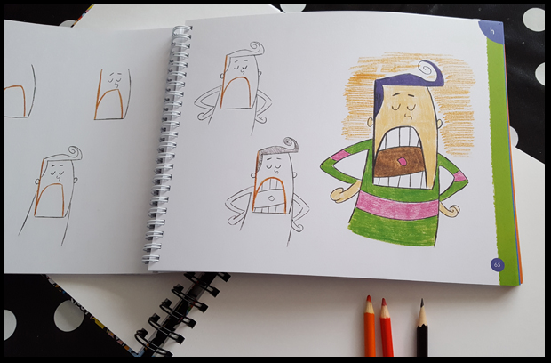 Drawing Cartoons Letter By Letter Book Review Lifestyle Diy