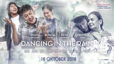 Nama biodata profil foto dan Sinopsis Film Dancing in The Rain 2018 lengkap