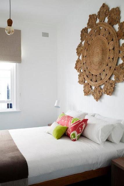 M s de 25 decoraciones de dormitorios sin cabeceras - Camas sin cabecero ...