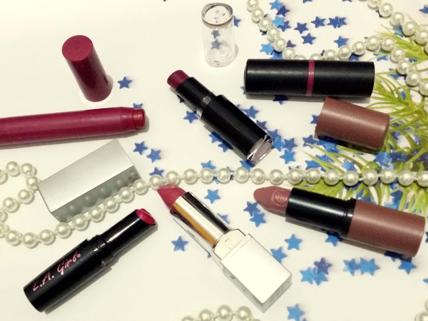 Favourite Bold Lipsticks