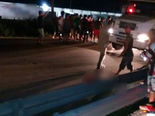Dois morrem e mulher fica em estado grave após atropelamento na Capital