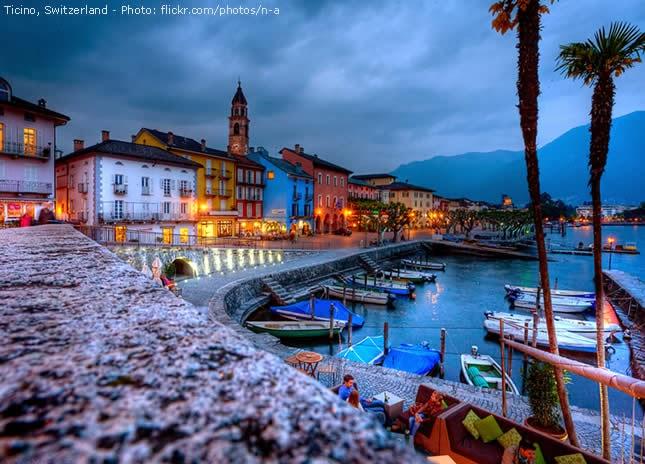 Cantão de Ticino, Suíça