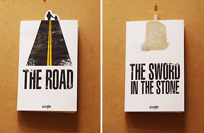 Bookmarks Which Interact With Book Covers-1