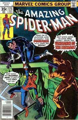 Amazing Spider-Man #175, the Punisher and the Hitman