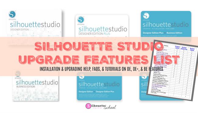 silhouette 101, silhouette america blog, silhouette studio, silhouette designer edition, silhouette business edition