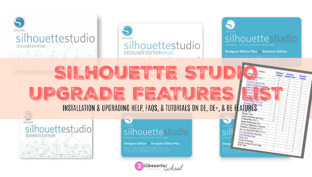 cricut, silhouette studio, design space, Silhouette Studio designer edition tutorials, Silhouette Studio Software tutorials, Silhouette Design Studio tutorials