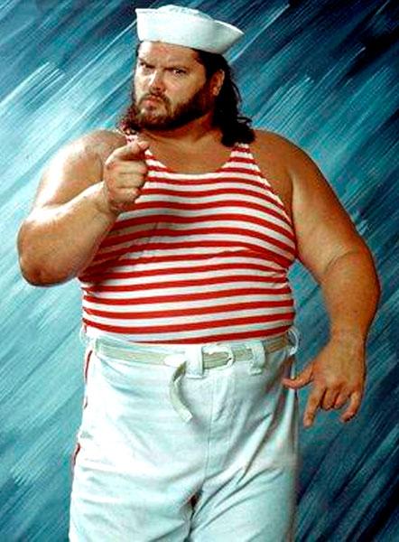 Pressing Catch WWF - El marinero tarugo