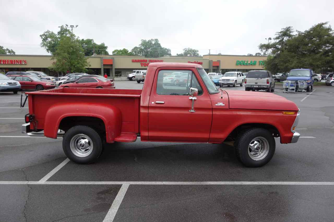 Florida Coal Cracker Chronicles April 2013 Timing A 351 Ford Engine Red 1978 F100 Custom