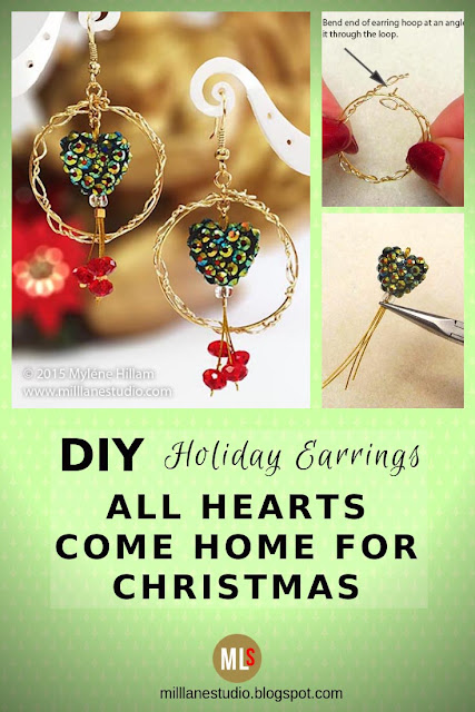 All Hearts Come Home for Christmas inspiration sheet.