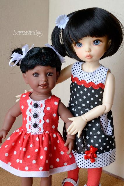 Одежда для кукол игровых и коллекционных кукол