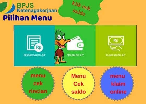 Gambar Ilustrasi 2 Cara Cek Saldo  BPJS Ketenagakerjaan