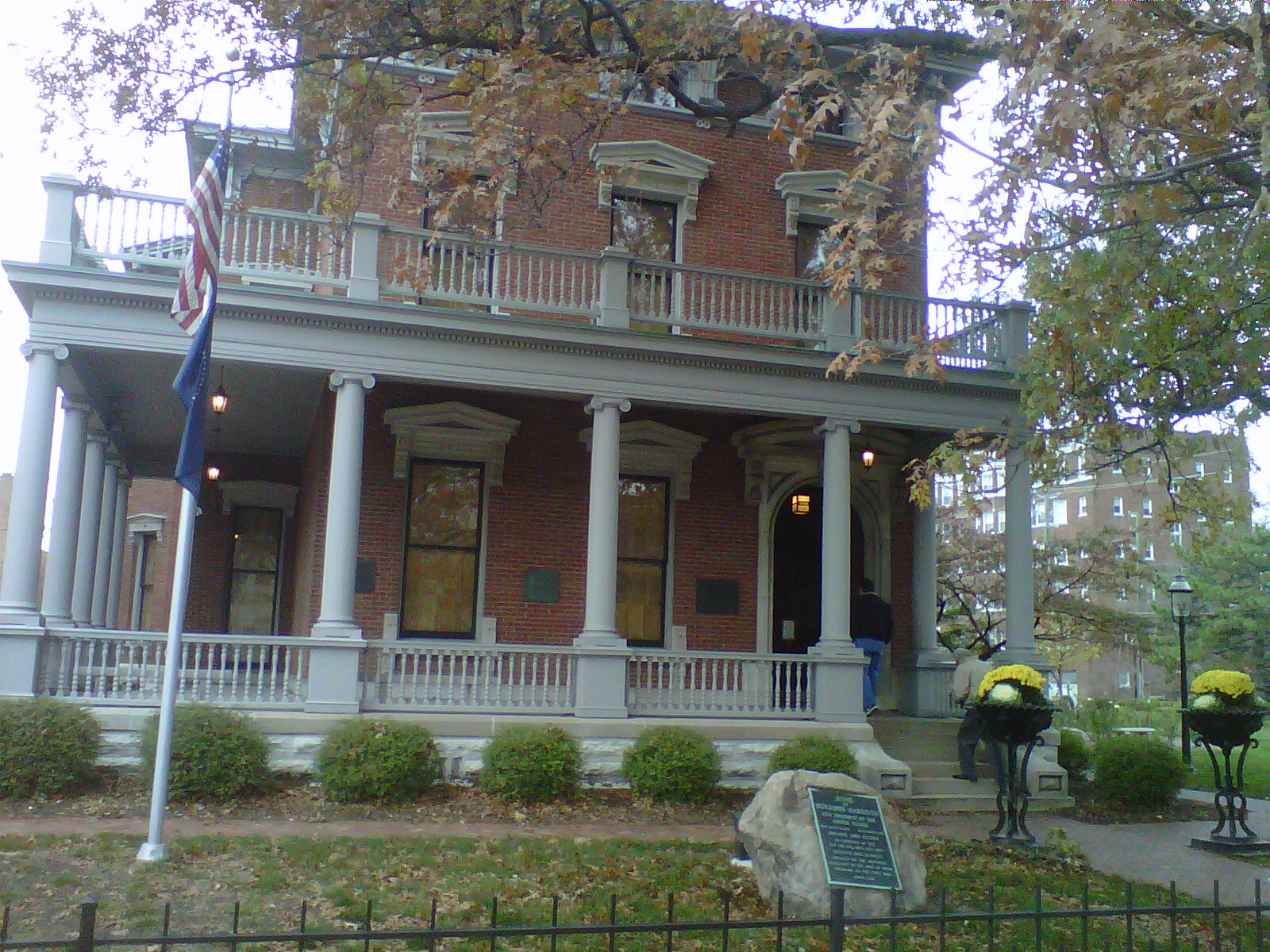 Citizen Grouch: Sight seeing in Indianapolis Part 1 ...  Benjamin Harrison House