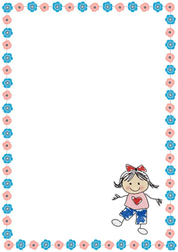 Caratulas de cuadernos para niñas de inicial