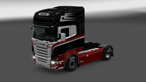 Holland Transport Skin for Scania RJL by Catalin