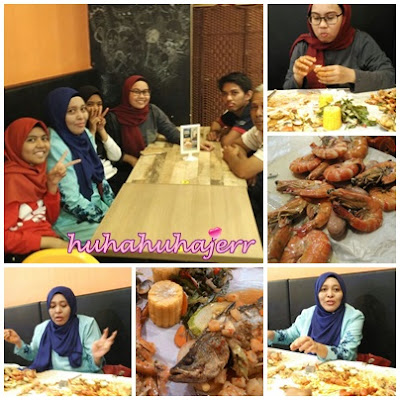 Shell Out Di My Story Cafe, Kota Kemuning Kelmarin.....