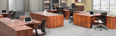 Offices To Go Desks and Workstations - Superior Laminate Series