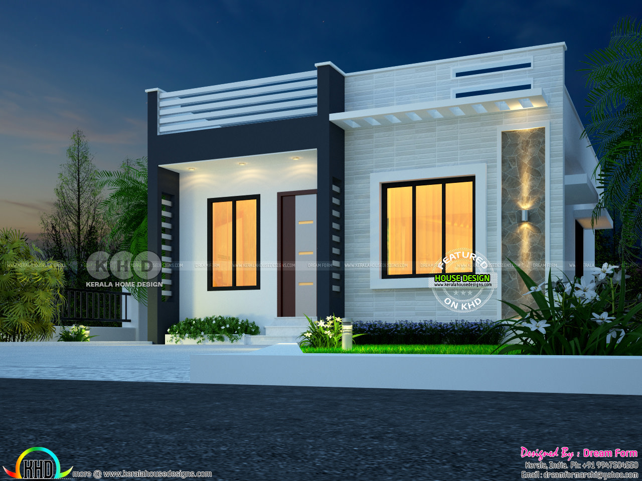 Under ₹10 lakhs Kerala home - Kerala home design and floor ...