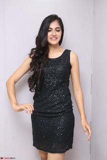 Simran Chowdary Model in Beautiful Black Dress at FBB Miss India 2017 finalists at Telangana auditions (13).JPG