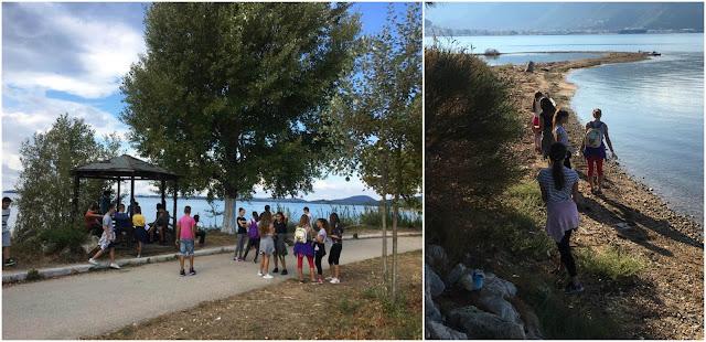 Θεσπρωτία: Μαθητές του 2ου Γυμνασίου Ηγουμενίτσας καθάρισαν τον ποδηλατόδρομο