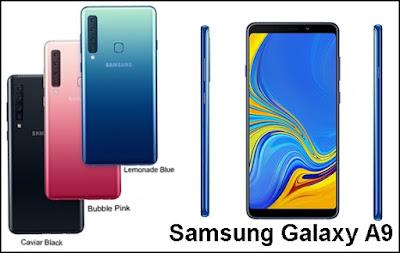 Samsung Galaxy A9, Smartphone Canggih Dengan 4 Kamera Belakang