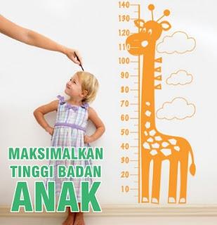 Tips Memaksimalkan Tinggi Badan Anak Sejak Dini