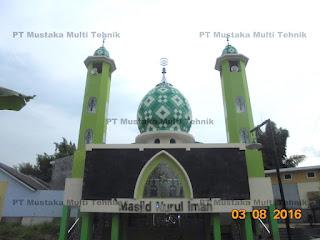 Kontraktor Kubah Masjid Enamel Terbaik Di Pati