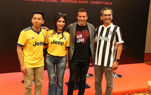 Del Piero Motivasi Pemain Sepak Bola Sumut