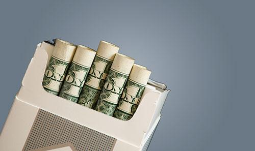 Parar de fumar - economizar dinheiro