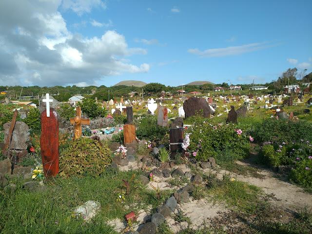 Cementerio de Hanga Roa, Isla de Pascua