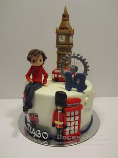 O 14º aniversário do Tiago em Londres