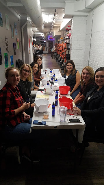 cleveland bloggers, craft, girls night out, craft