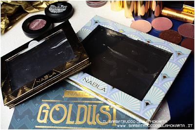 limited edition palette nabla Goldust