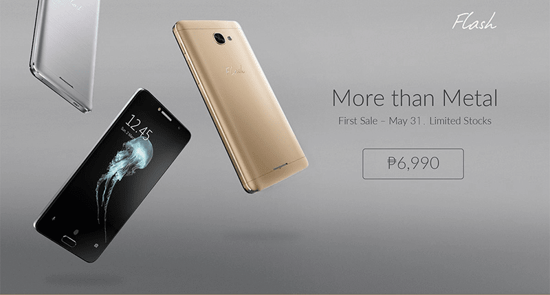 Flash Plus 2 is priced at 6,990 Pesos only!