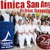 Clínica San Ángel, con servicio de urgencias las 24 horas,  con personal médico y especialistas