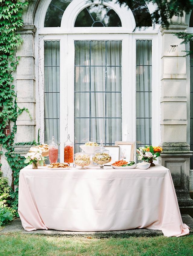 my michigan garden bridal shower michaela noelle designs